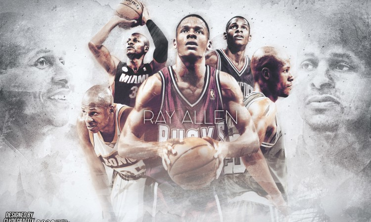 Ray Allen Career 2880x1800 Wallpaper