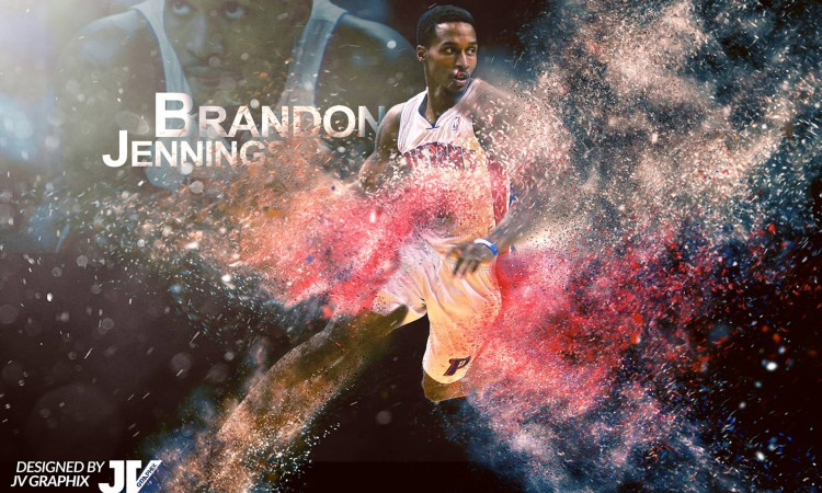 Brandon Jennings Pistons 2016 1920x1200 Wallpaper