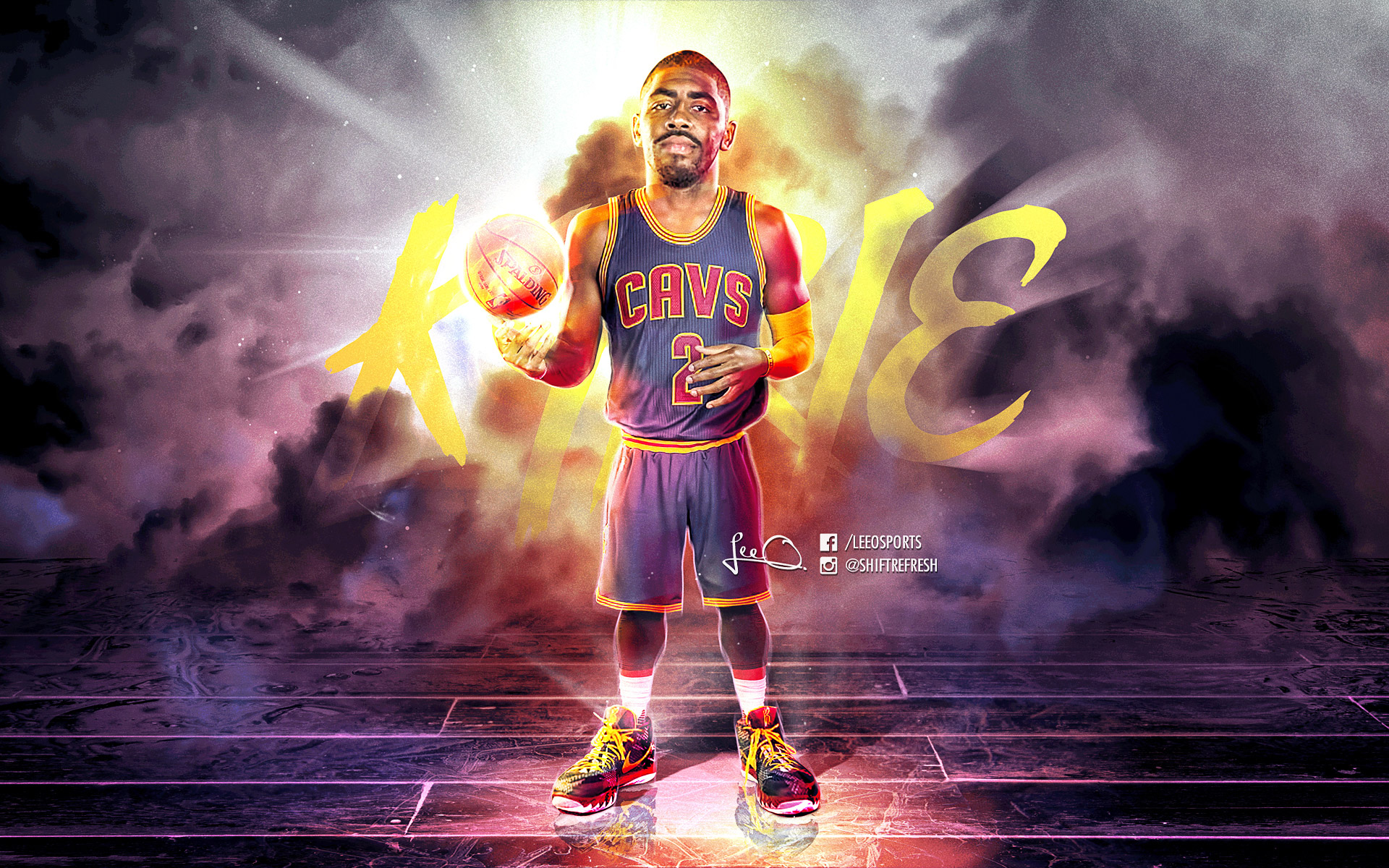 Kyrie Irving Cavaliers 2016 1920x1200 Wallpaper