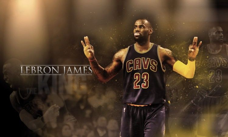 LeBron James Cavaliers 2016 1920x1080 Wallpaper