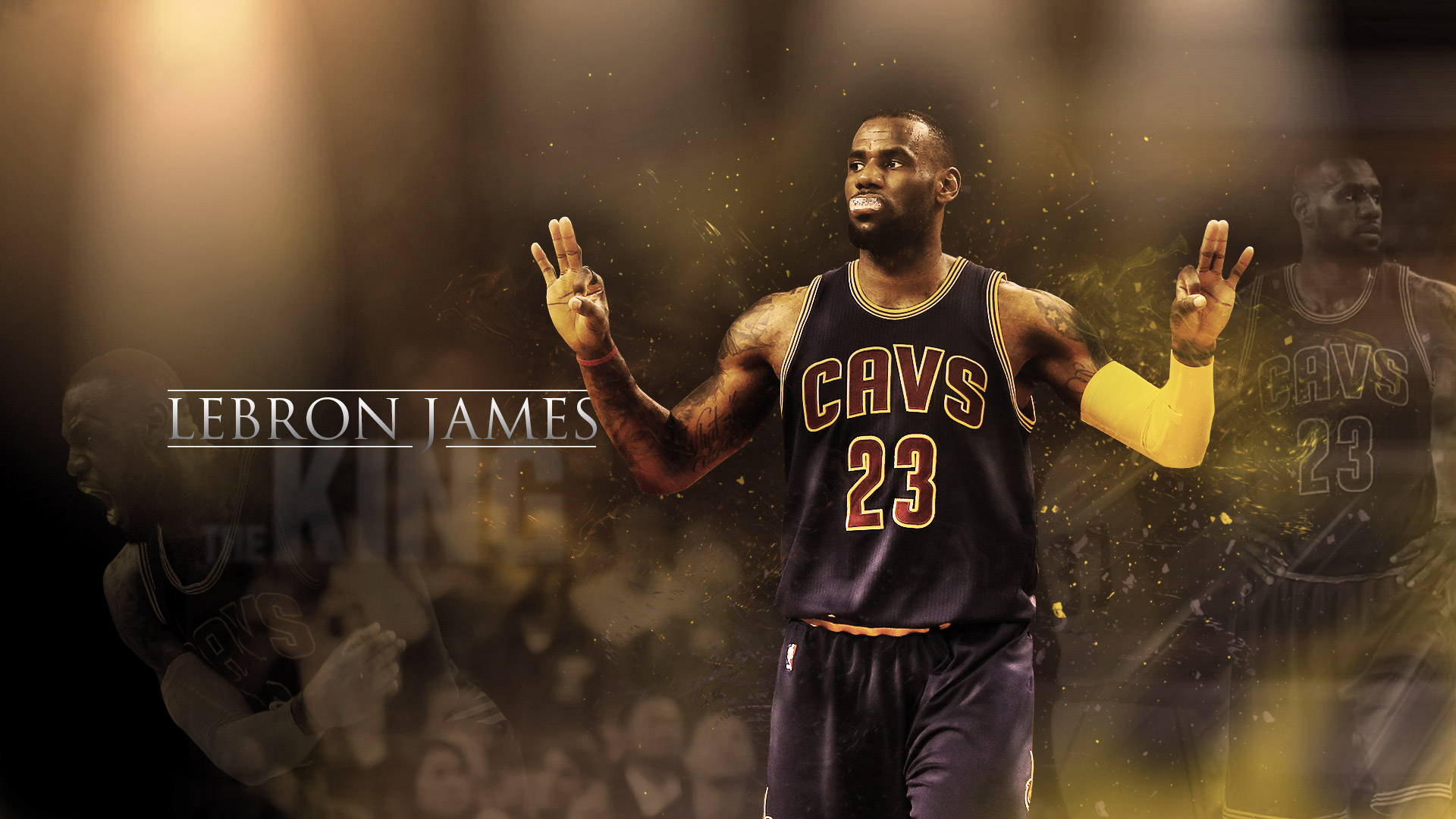 LeBron James Cavaliers 2016 1920×1080 Wallpaper  Basketball