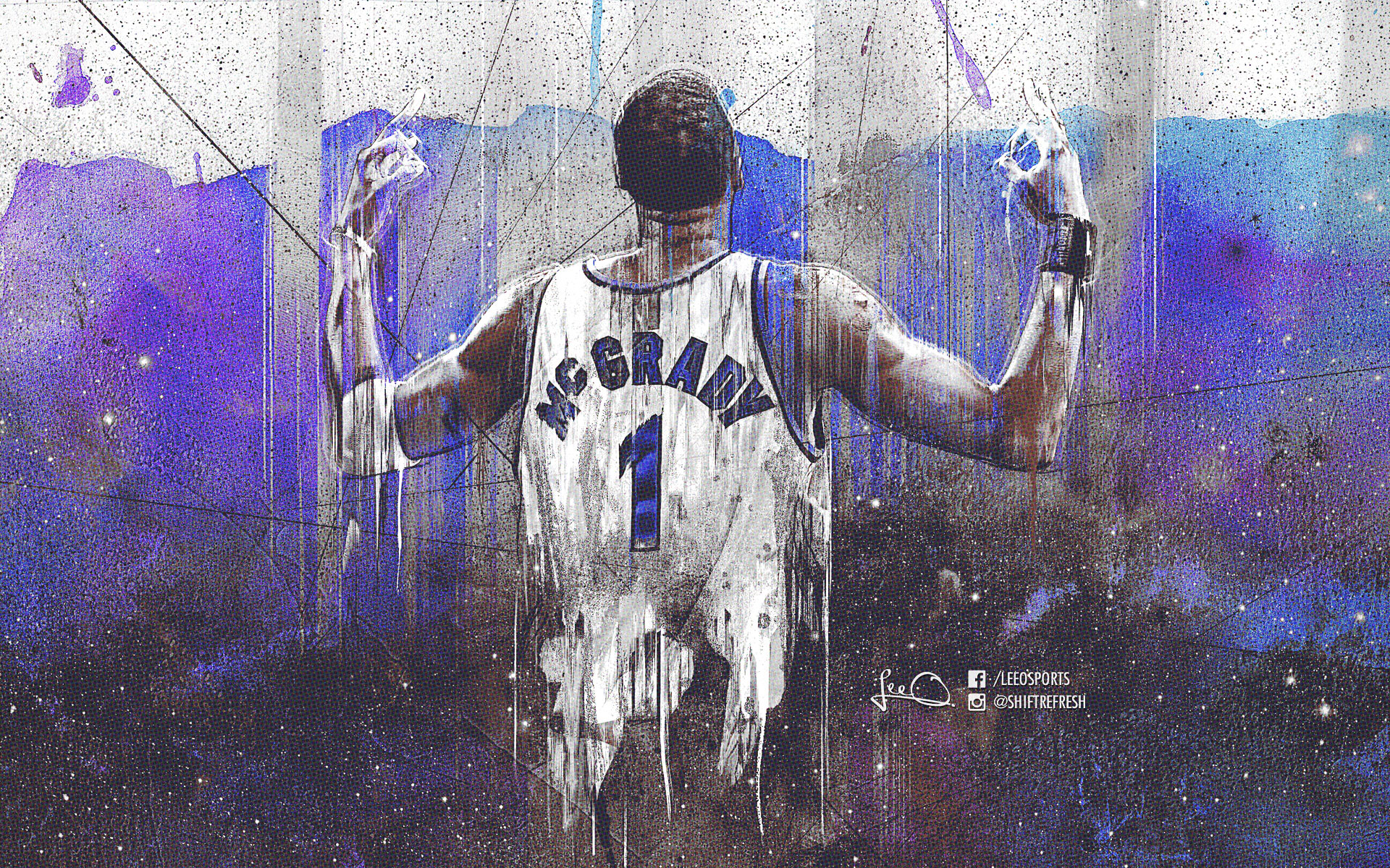 Tracy McGrady Orlando Magic 1920x1200 Wallpaper