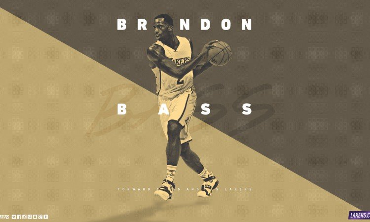 Brandon Bass LA Lakers 2560x1440 Wallpaper
