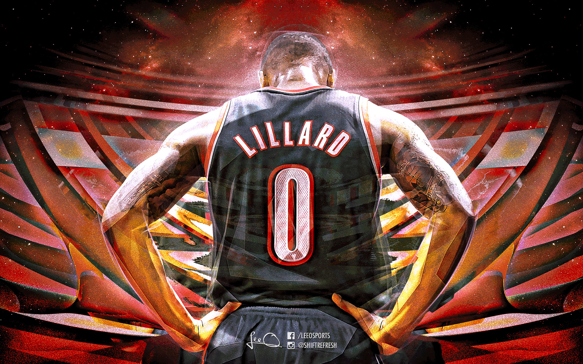 Damian Lillard 2016 1920x1200 Wallpaper
