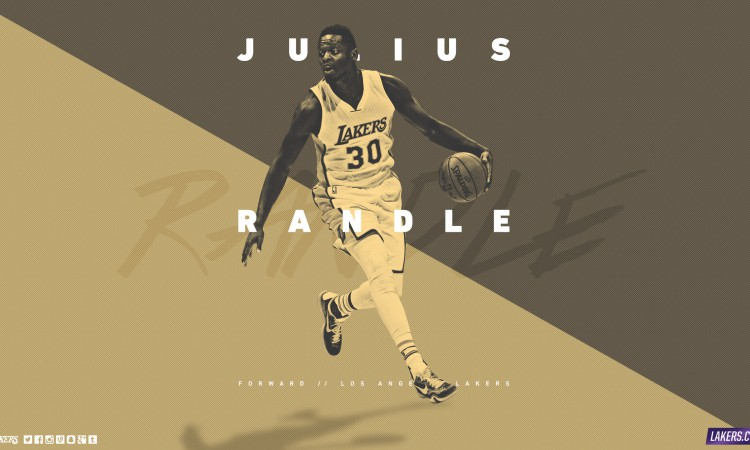 Julius Randle LA Lakers 2015-2016 Wallpaper