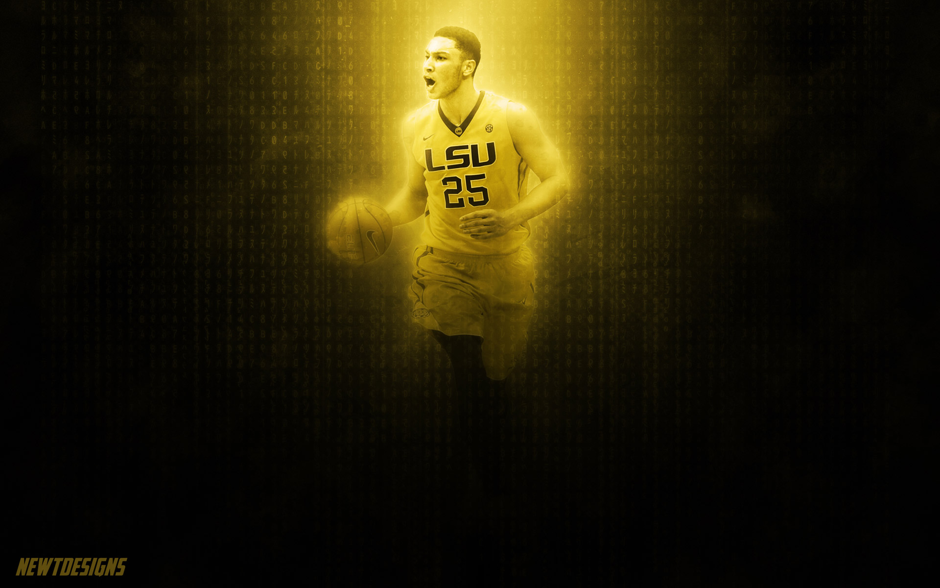 Ben Simmons LSU Tigers 2016 Wallpaper