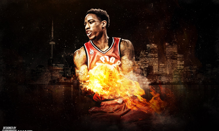 DeMar DeRozan Raptors 2016 Wallpaper