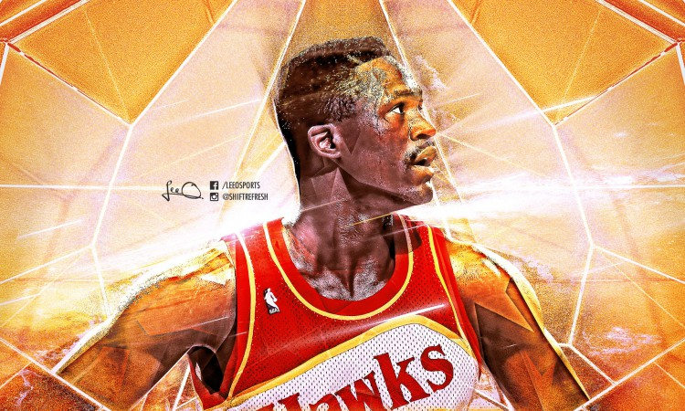 Dominique Wilkins Hawks 1920x1200 Wallpaper