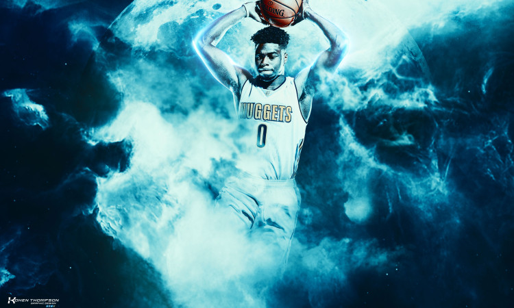Emmanuel Mudiay 2016 Denver Nuggets 2880x1800 Wallpaper