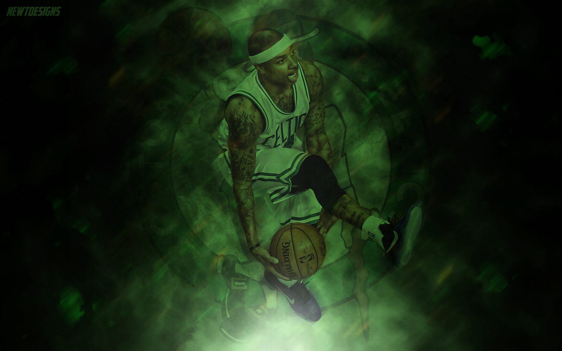 Isaiah Thomas Boston Celtics 2016 Wallpaper