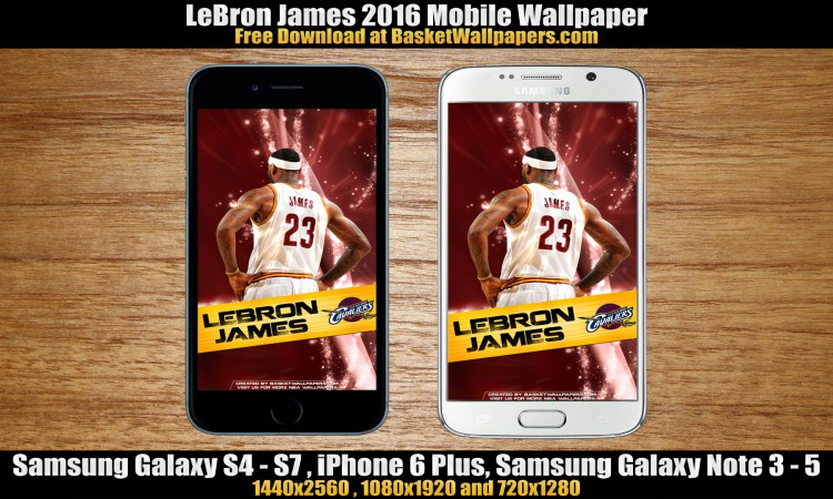 LeBron James Cleveland Cavaliers 2016 Mobile Wallpaper