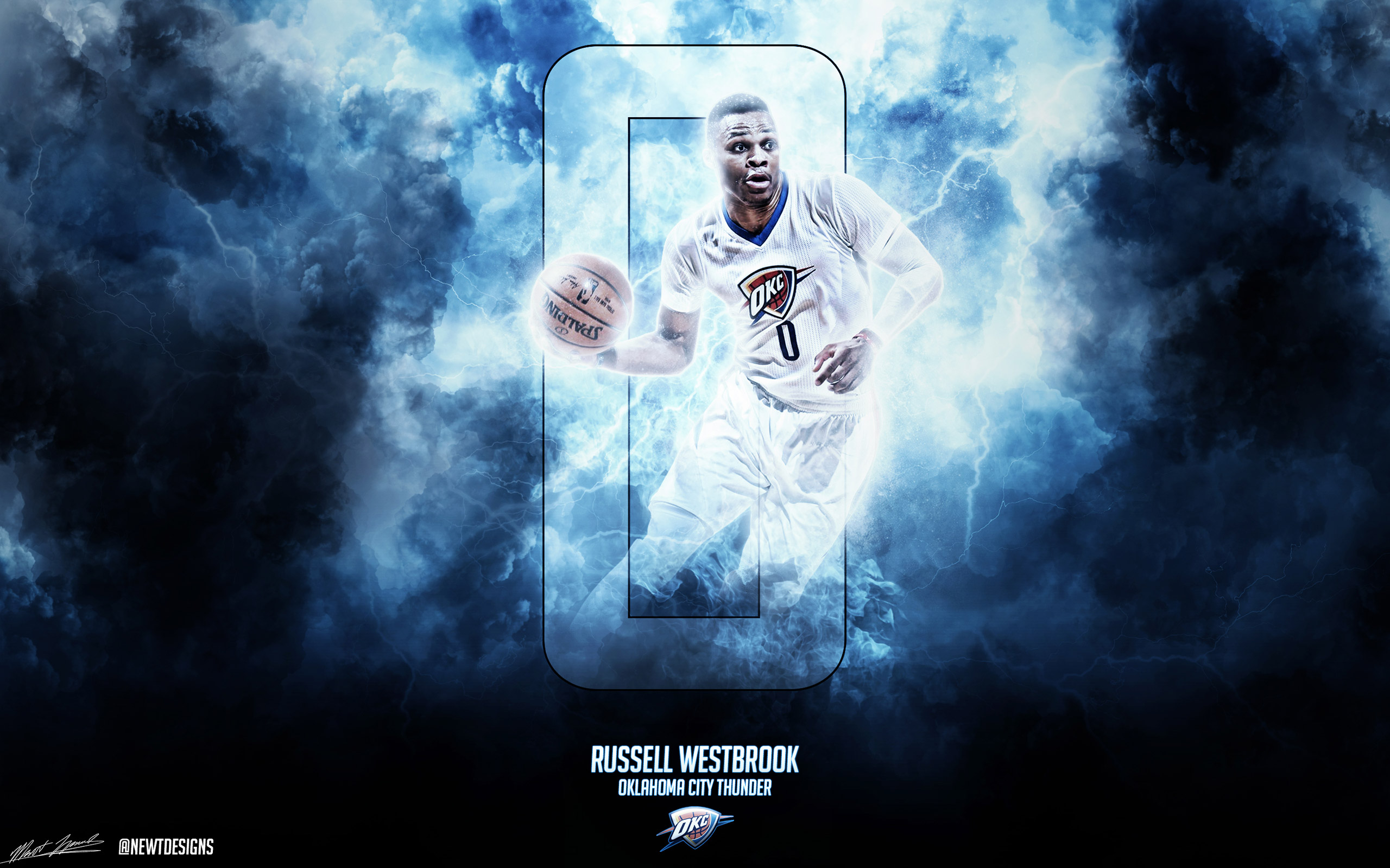 Russell Westbrook 2560x1600 Wallpaper