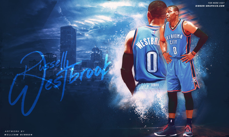 Russell Westbrook OKC Thunder 2016 2560x1600 Wallpaper