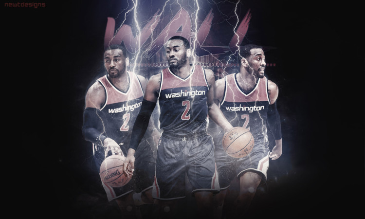 John Wall Wizards 2016 Wallpaper