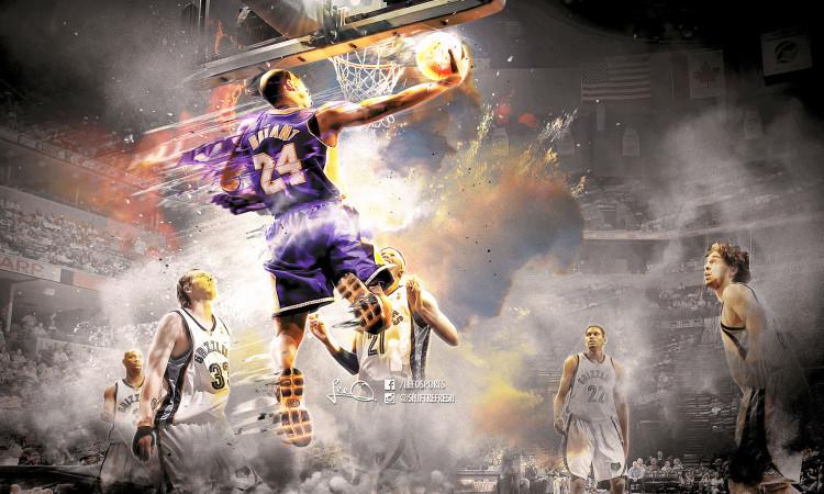 Kobe Bryant 2016 Grizzlies 1920x1200 Wallpaper