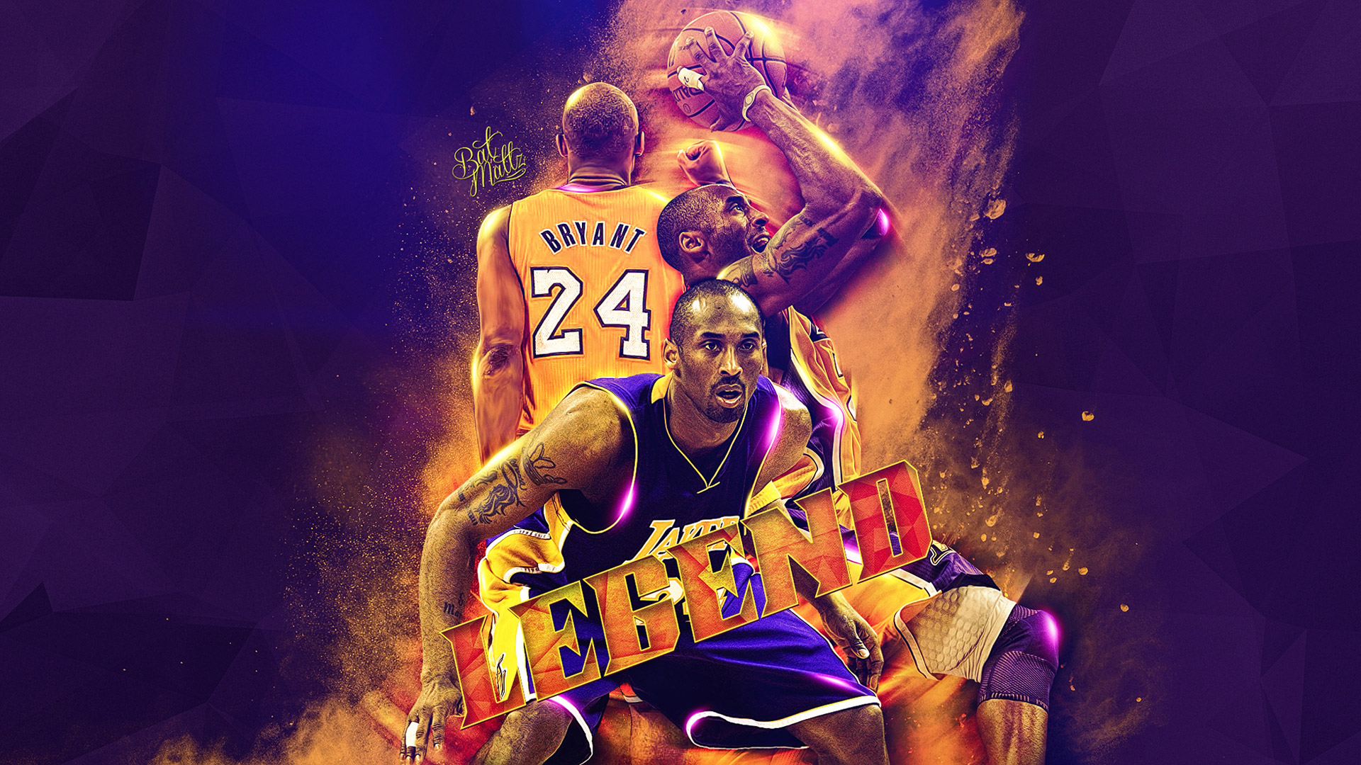 Kobe Bryant NBA Legend 1920×1080 Wallpaper | Basketball ...