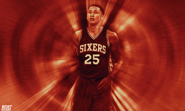 Ben Simmons 76ers Pick 1 Wallpaper