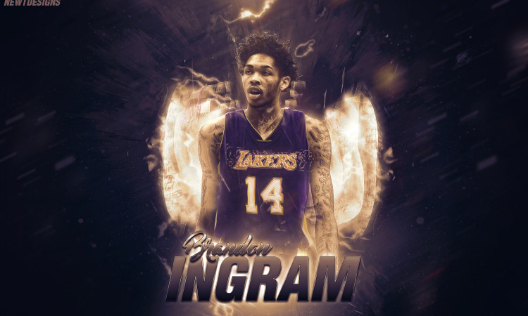 Brandon Ingram Lakers Jersey Swap Wallpaper