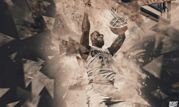 LeBron James 2016 NBA Finals 2880x1800 Wallpaper