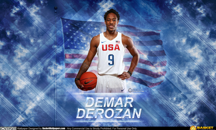 DeMar DeRozan USA 2016 Olympics Wallpaper