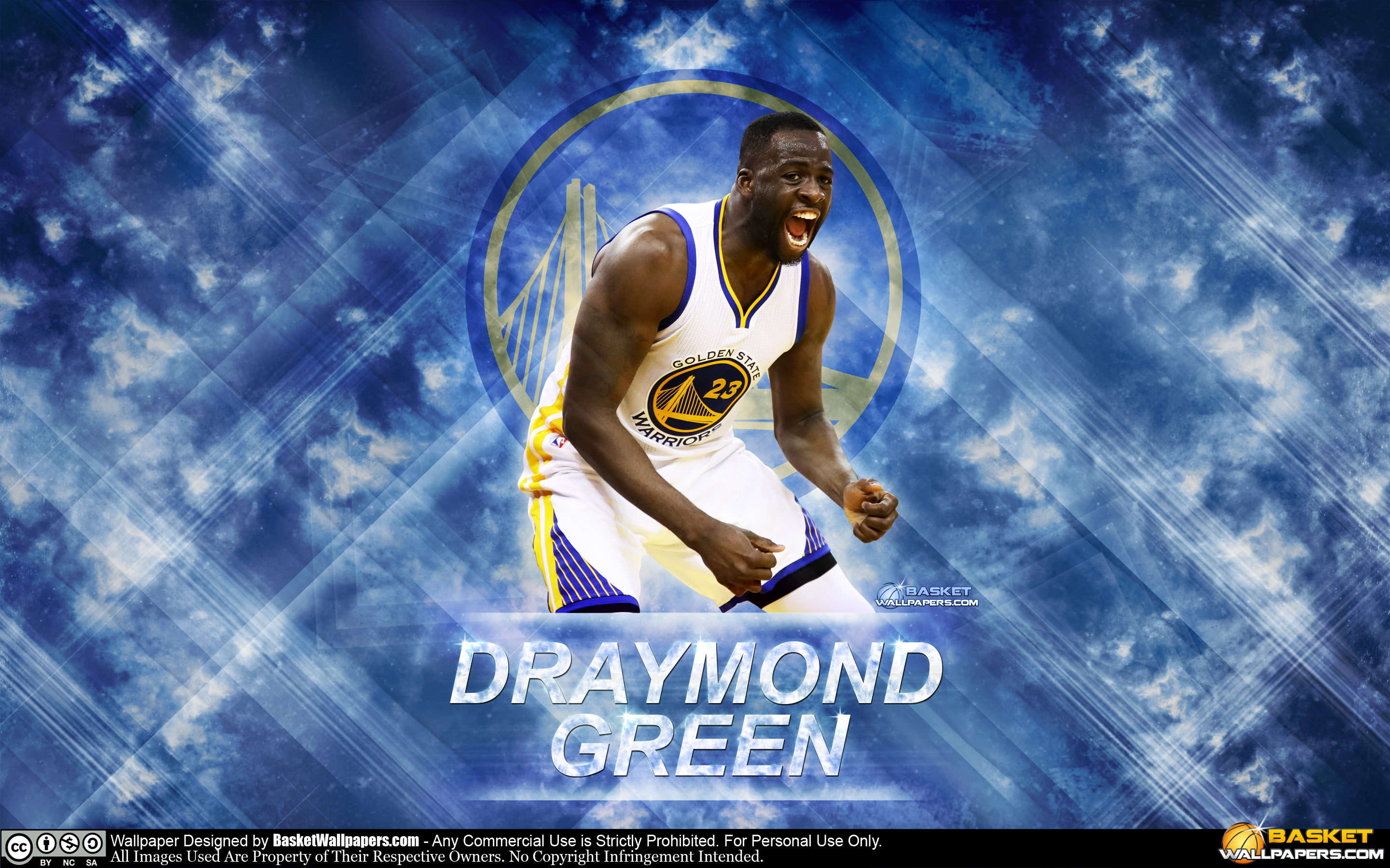 Draymond Green Warriors 2016 Wallpaper