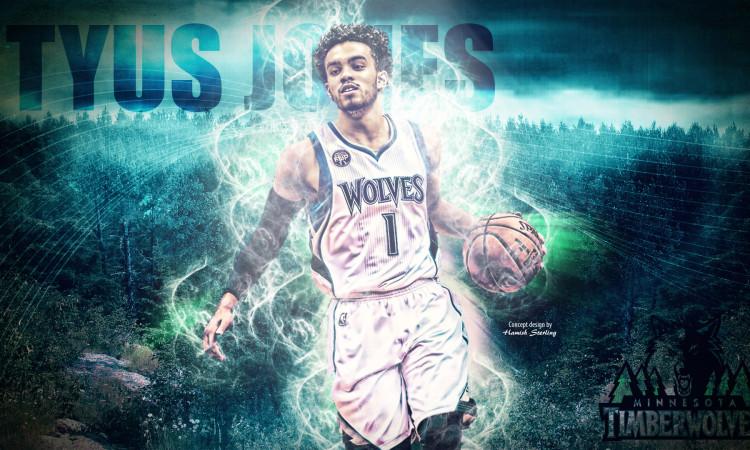 Tyus Jones Timberwolves 2016 Wallpaper
