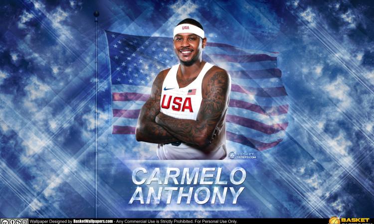 Carmelo Anthony USA 2016 Olympics Wallpaper