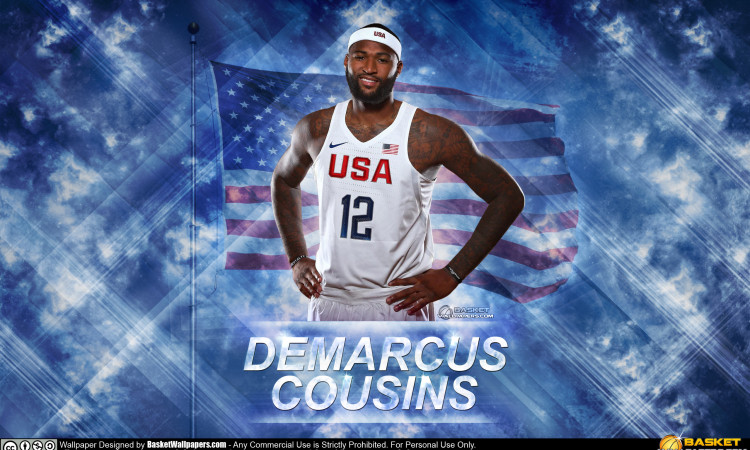 DeMarcus Cousins USA 2016 Olympics Wallpaper