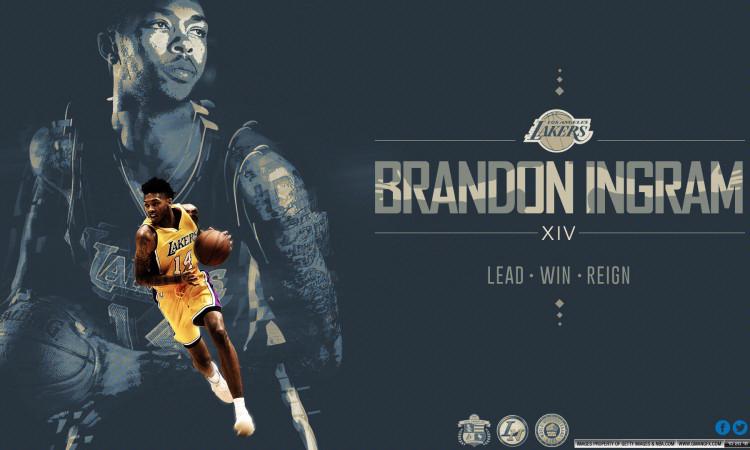 Brandon Ingram Lakers 1920x1080 Wallpaper