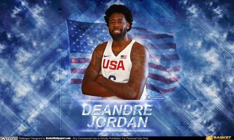 DeAndre Jordan USA 2016 Olympics Wallpaper