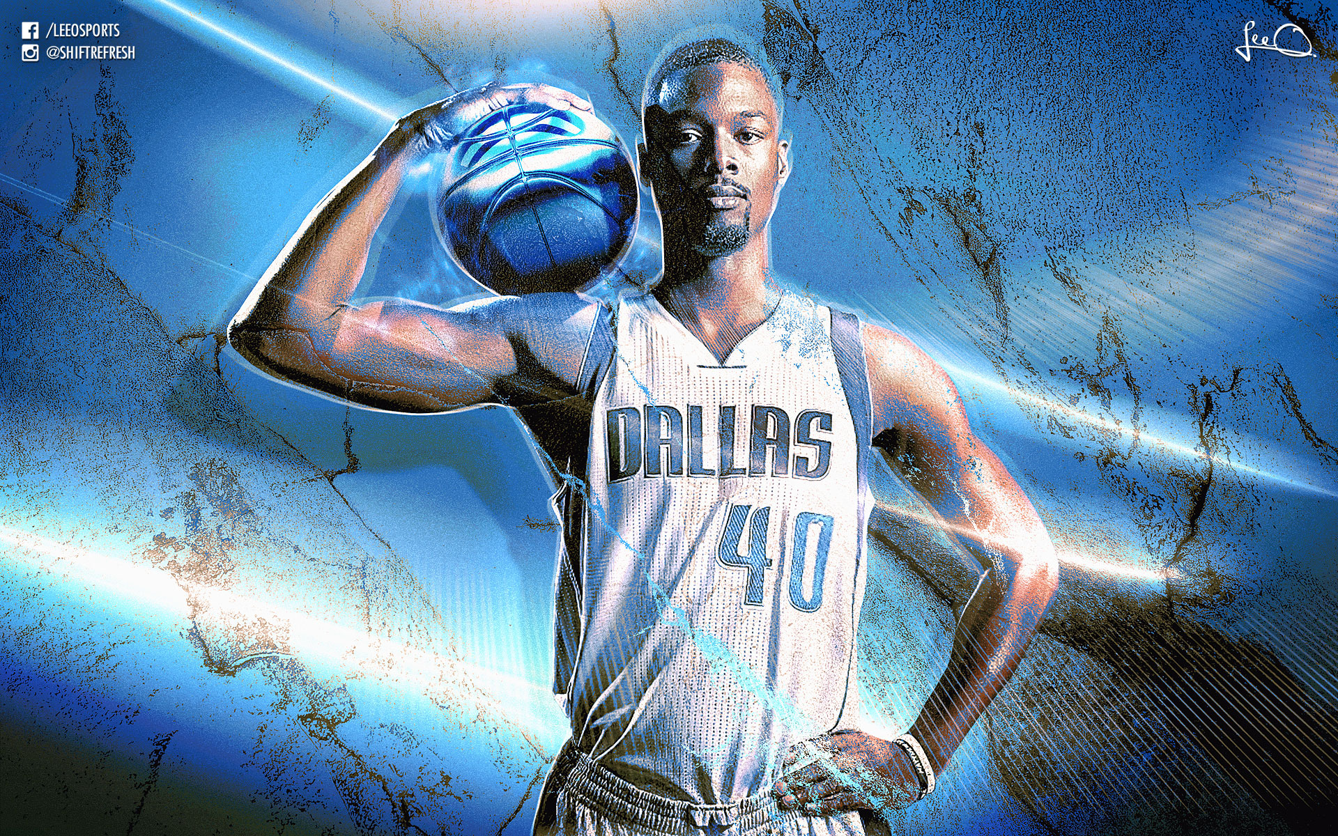Harrison Barnes Dallas Mavericks 2016 Wallpaper