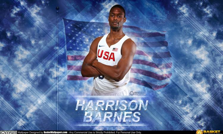 Harrison Barnes USA 2016 Olympics Wallpaper