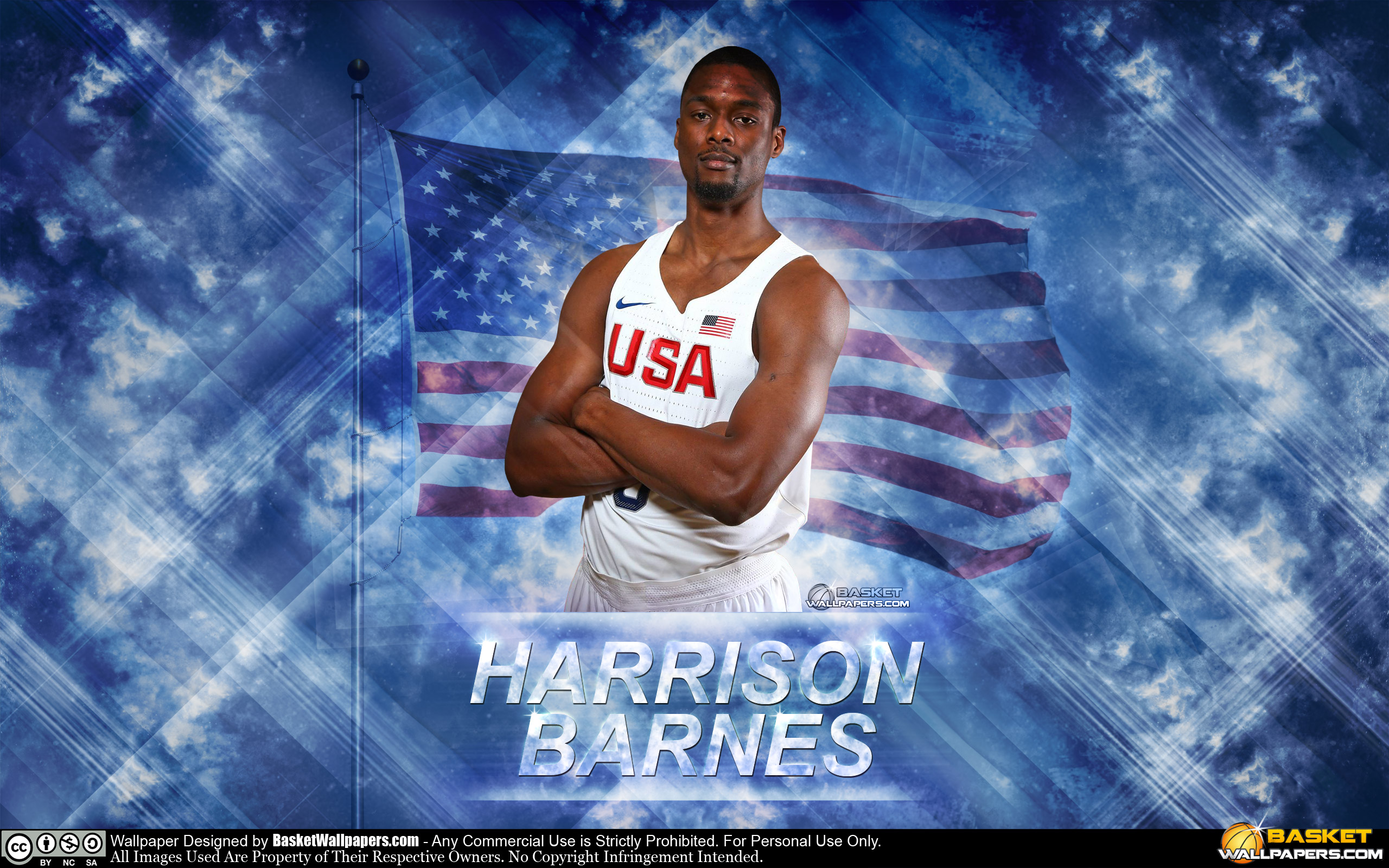 Harrison Barnes USA 2016 Olympics Wallpaper