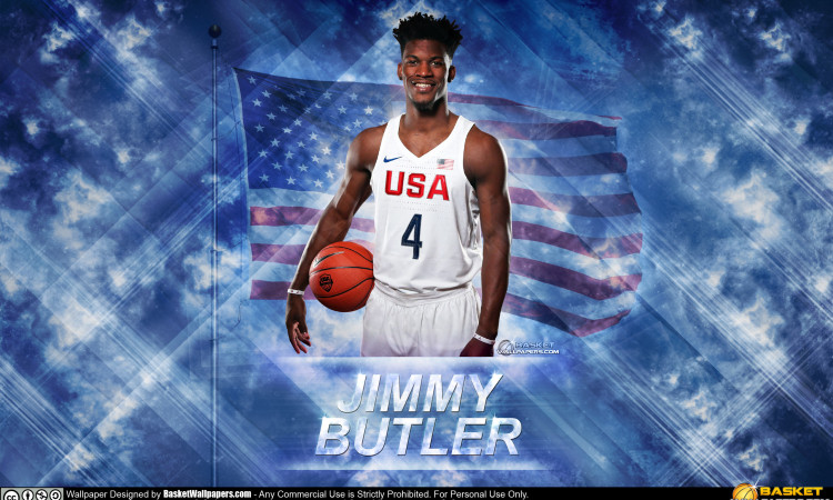 Jimmy Butler USA 2016 Olympics Wallpaper