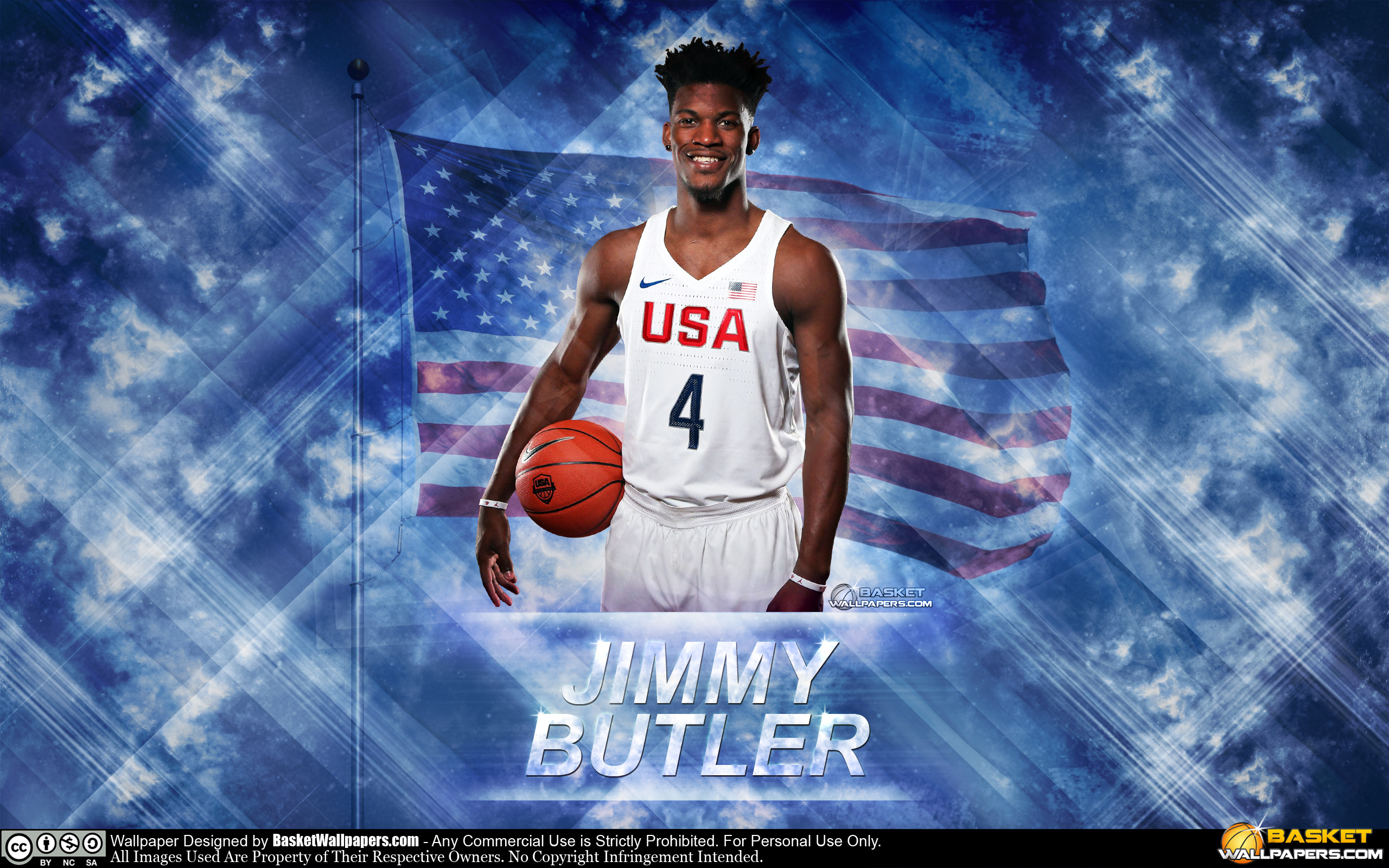 Jimmy Butler USA 2016 Olympics Wallpaper | Basketball ...