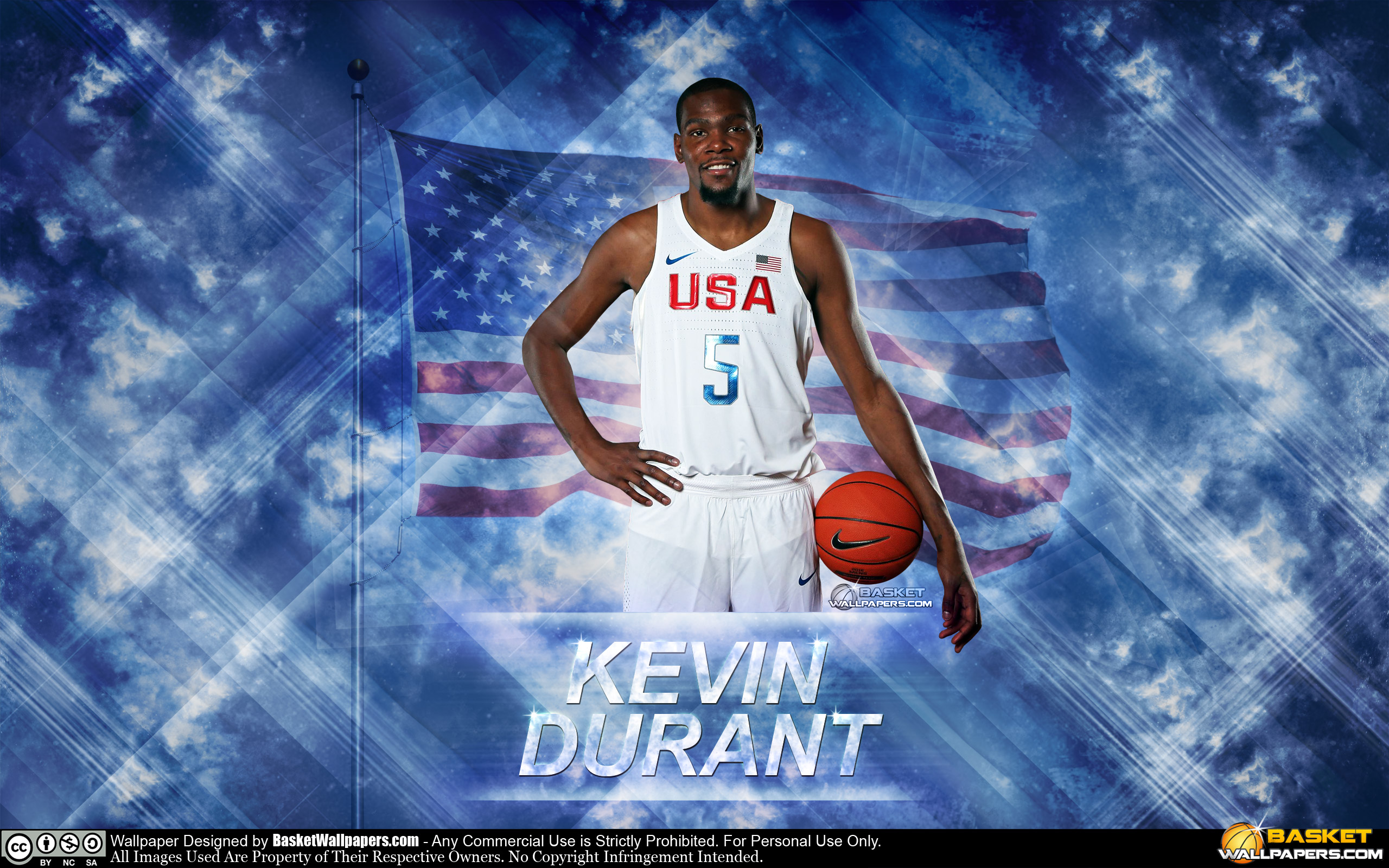 Kevin Durant USA 2016 Olympics Wallpaper
