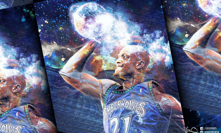Kevin Garnett NBA Legend Wallpaper