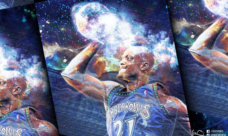 Kevin Garnett NBA Legend Wallpaper