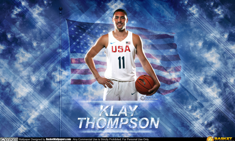 Klay Thompson USA 2016 Olympics Wallpaper