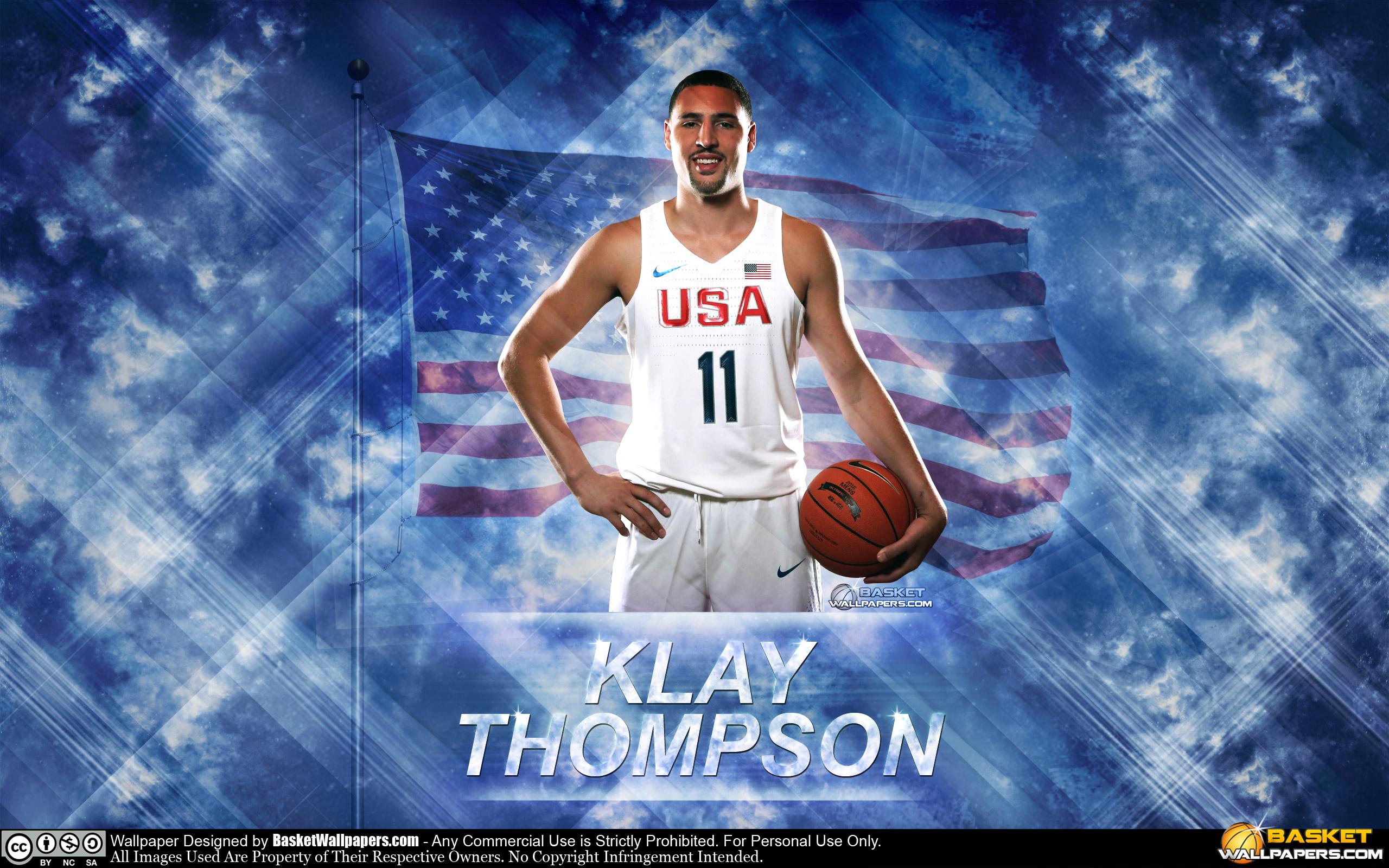 Klay Thompson USA 2016 Olympics Wallpaper
