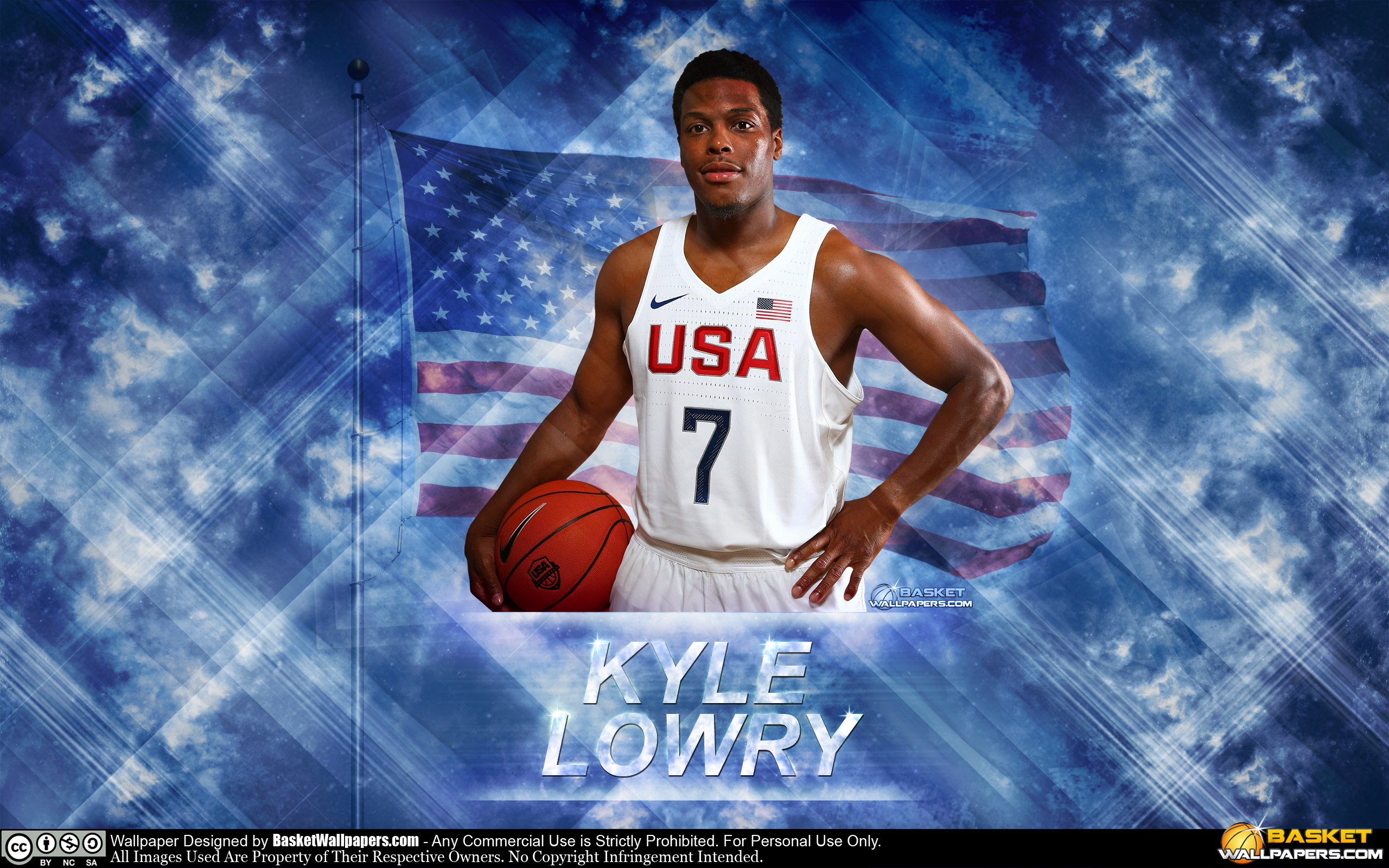 Kyle Lowry USA 2016 Olympics Wallpaper | Basketball Wallpapers at ...