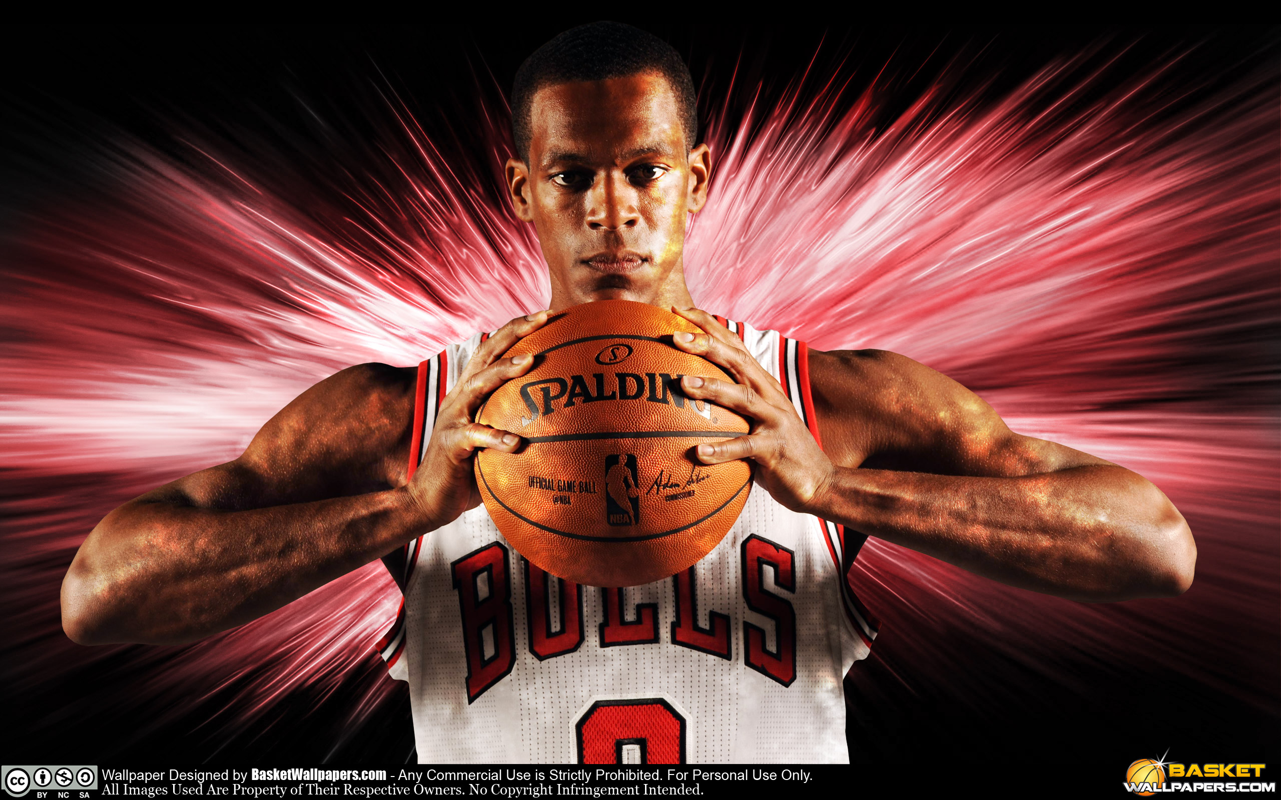 Rajon Rondo Chicago Bulls 2016 Wallpaper