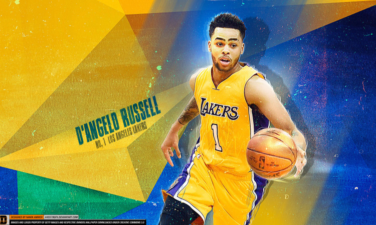 D'Angelo Russell Lakers 1 1920x1080 Wallpaper