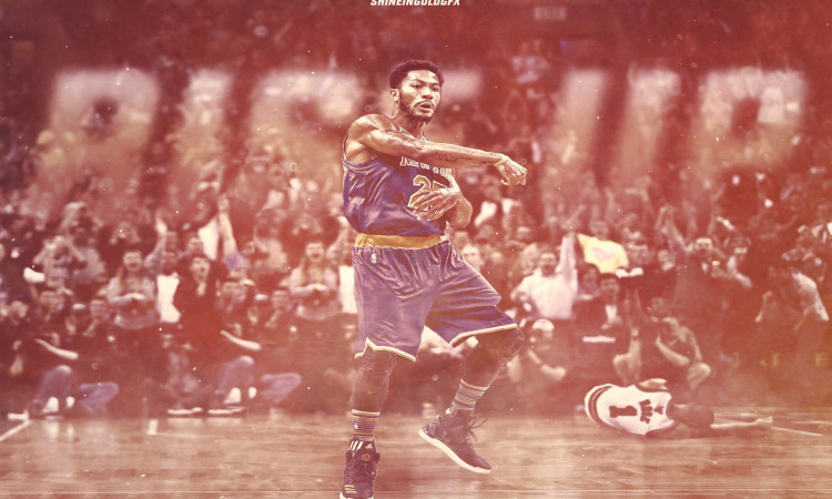 Derrick Rose Rise Up 2016 1920x1200 Wallpaper