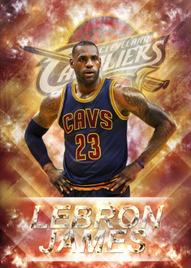 LeBron James Poster 2016