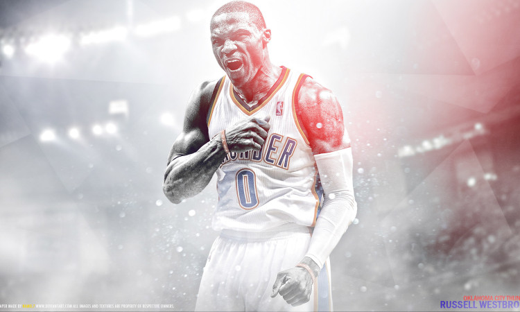 Russ Westbrook 2016 1920x1080 Wallpaper