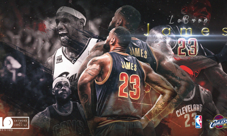LeBron James 2017 Playoffs 1920x1080 Wallpaper
