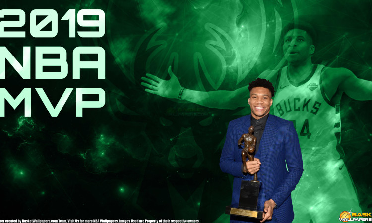 Giannis Antetokounmpo 2019 NBA MPV 2560x1440 Wallpaper