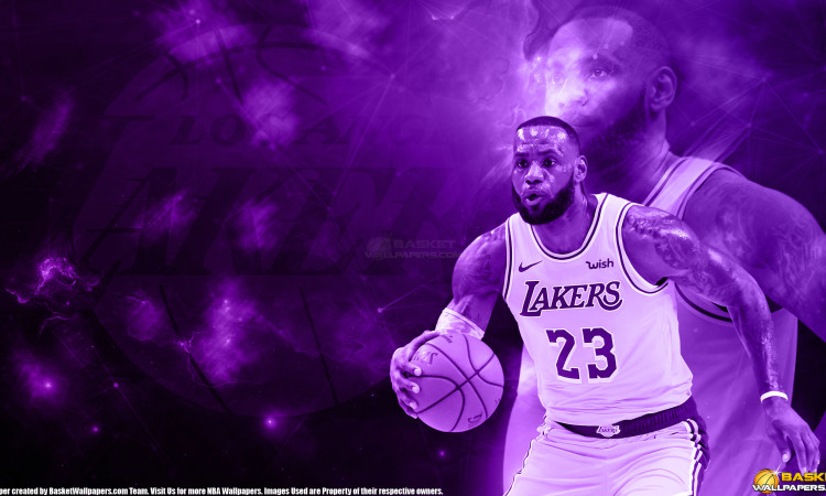 LeBron James 2019 LA Lakers 2560×1440 Wallpaper
