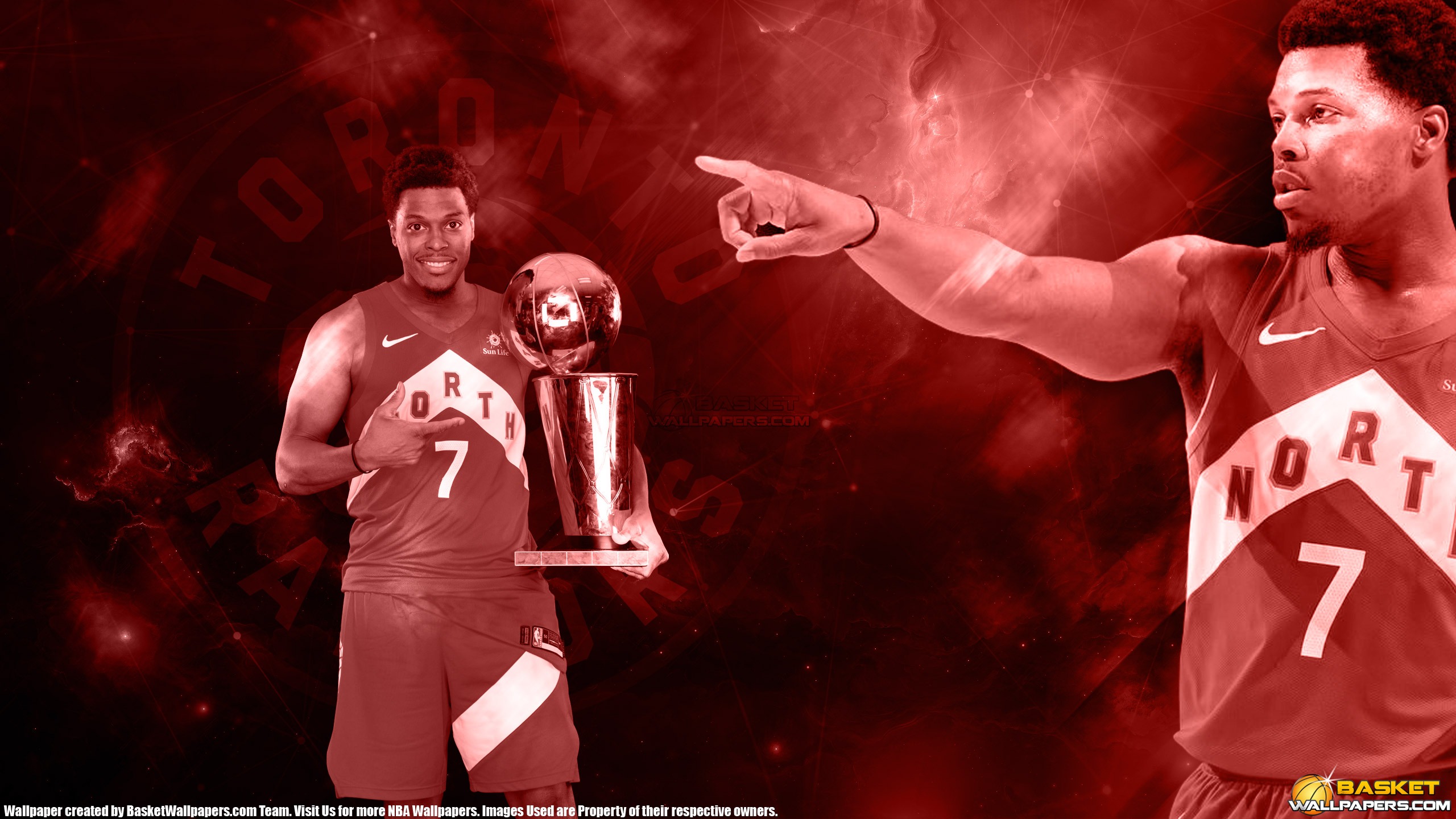 Kyle Lowry 2019 NBA Champion 2560x1440 Wallpaper